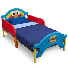 Elmo Bedding For Cribs Sesame Elmo Toddler Bed Walmart
