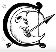 drursus moon tattoos designs