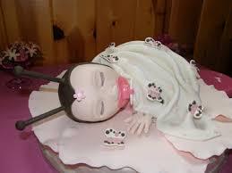 smandacakes ladybug baby shower cake pink