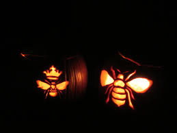 pumpkin carving romancing the bee