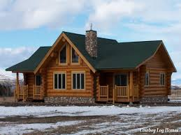 One Story Log Cabins Small One Level Log Home Plans Home Decor Ideas