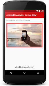 imageview android how to add border to android imageview viral android tutorials