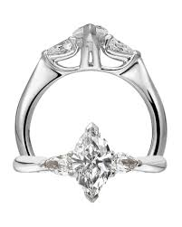marquise cut diamond ring marquise cut diamond engagement rings martha stewart weddings