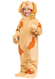 Boy Dog Halloween Costumes Orange Toddler Puppy Costume Halloween Costumes