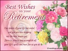 retirement wishes greetings and retirement messages wordings