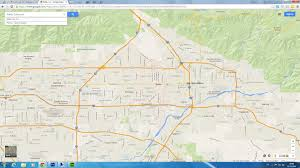 Google Map Of United States by Rialto California Map