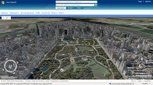 Map Central Park Google Earth Map Of New York You Can See A Map Of Many Places On