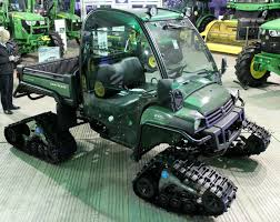gator power wheels john deere launches tracked version of the gator agriland