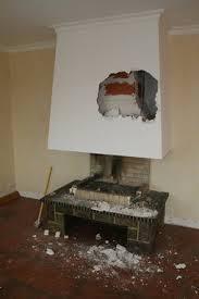 comment enlever une hotte de cuisine comment démolir une cheminée