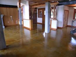 Laminate Flooring Concrete Slab How To Stain Concrete Adding Color To Cement Surfaces Hgtv