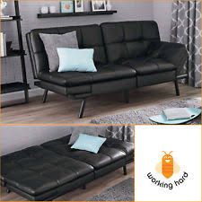 faux leather sofas loveseats and chaises ebay