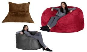 pillow giant or xxl memory foam beanbag with free delivery from