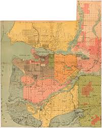 Antibes France Map by Lower Mainland B C City Of Vancouver Archives