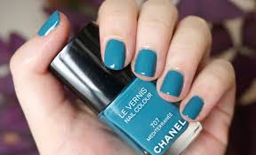 chanel mediterranee nail polish review through the looking glass