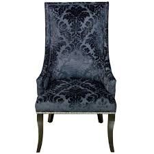 damask chair chatham black velvet damask chair at home at home
