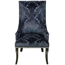 damask chair chatham black velvet damask chair at home at home