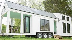 Mint Tiny Homes by Tiny House On Wheels Bright Open Air Living For A Family Of Four