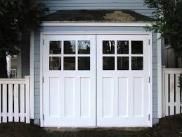 Garage Barn Doors Hinged Swinging Swing Out Swing In And Swing Real Carriage