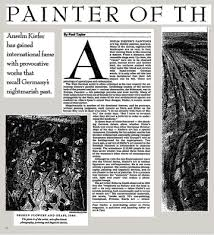 le kiefer hearing aid center painter of the apocalypse the new york times
