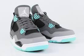 green glow 4 air iv green glow air shoes hq