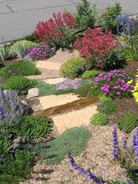 Rock Gardens On Slopes Garden Equip And Beautiful Hanging Gardens Planting On A Slope
