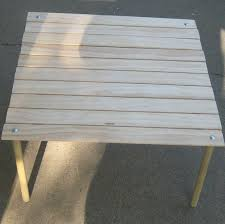 Build A Picnic Table Cost by Make A Collapsable Table For Concerts In The Park 13 Steps With