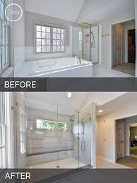 bathroom remodeling ideas before and after carl susan s master bath before after pictures master
