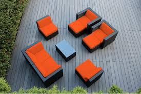 Patio Furniture Conversation Set - genuine ohana 9 piece outdoor wicker patio furniture sectional