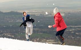 uk weather snow brings abrupt halt to as wintry conditions