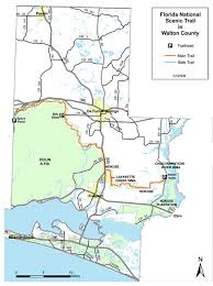 eglin afb map hiking the trails in walton county walton outdoors