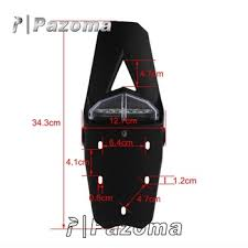 bicycle rear fender light accessories motorcycle polisport motorcycle bike rear fender tail