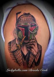 ryan and brooke cook tattoos tattoos color sherlock boba fet