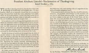 proclamation thanksgiving day 1863 wallbuilders