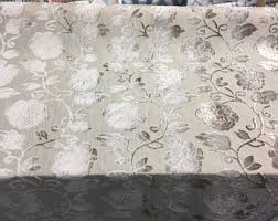 Braided Velvet Curtain Cut Velvet Fabric Etsy