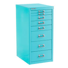 Drawer by Bisley Aqua 8 Drawer Collection Cabinet The Container Store