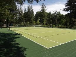 standard tennis court by flexcourt athletics image on