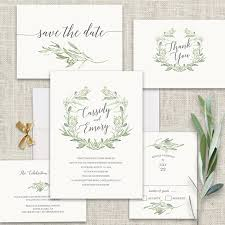 wedding invitations greenery wedding invitations trends by notedoccasions