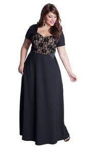 plus size shop evening party elegant woman and fashion