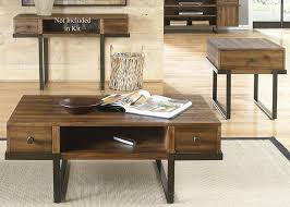 Wire Computer Desk Liberty Furniture Paxton 2 Piece Coffee Table Set In Wire Brushed