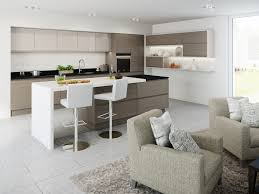 Warm Grey Kitchen Contemporary Kitchens Terence Ball Kitchens