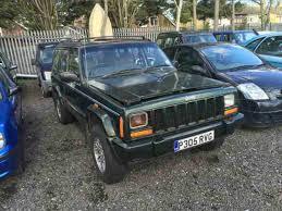 turbo jeep cherokee jeep grand cherokee 2 5 turbo diesel 1997 green long mot spares or