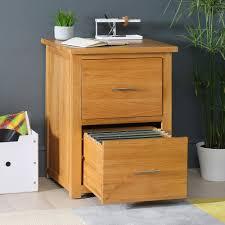 Oak Filing Cabinet New Solid Oak 2 Drawer Filing Cabinet