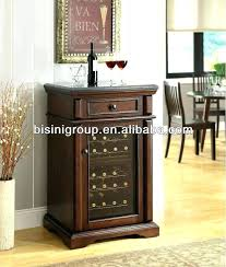 wine cooler cabinet reviews wine refrigerator furniture antique mahogany wine cooler on stand