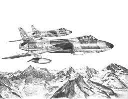 hunter patrouille pencil drawings forumehangar com