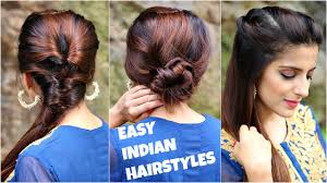 3 anarkali hairstyles for medium long hair easy everyday indian