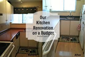 budget kitchen remodel ideas kitchen renovation on a budget home interior ekterior ideas