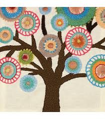 tree crewel embroidery kit embroidery designs joann