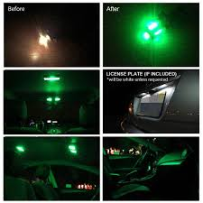 ledpartsnow toyota tundra 2007 2014 green premium led interior