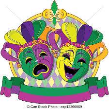 mardi gra mask mardi gras masks design mardi gras comedy and tragedy masks clip