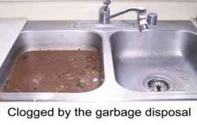 clogged sink unclog kitchen sink with disposal playmaxlgc com
